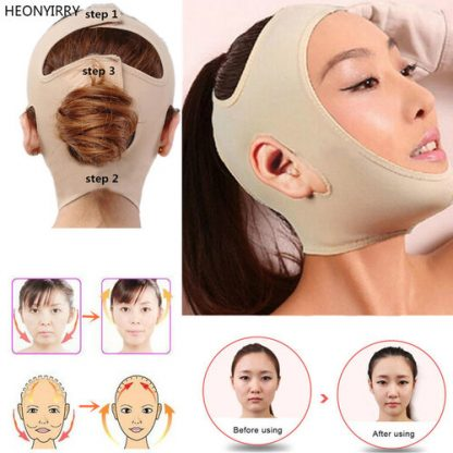 Face Lift Tools Slimming Facial Thin Masseter Double Chin Skin Care Thin Face Bandage Belt-