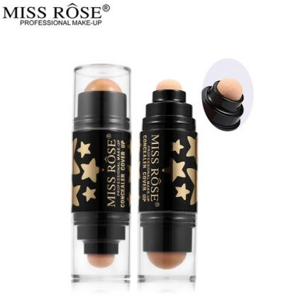 Miss Rose Face Makeup Primer Concealer Cream Stick Double-ended Invisible Pore Wrinkle Cover