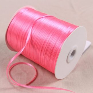 1/8″ 3mm Satin Ribbon for packing and bow & Garment Accessories 10y/lot 05 Hot Pink Rated 4.0 /5 base
